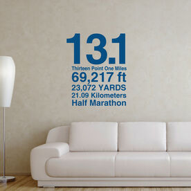 13.1 Math Miles GoneForaRunGraphix Wall Decal