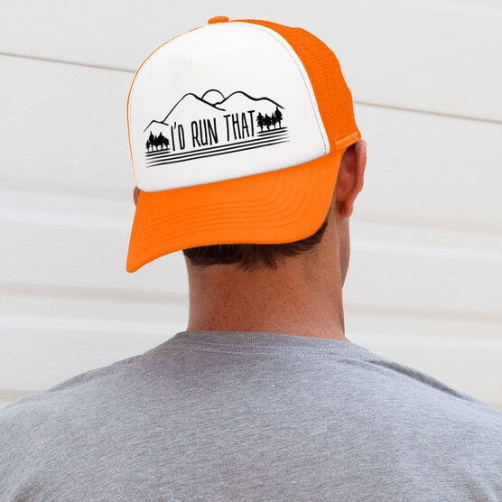 Running Trucker Hat - I'd Run That