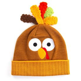 HidLids Thanksgiving Turkey Knit Beanie Hat