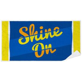 Premium Beach Towel - Shine On