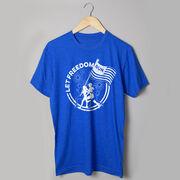 Running Short Sleeve T-Shirt - Let Freedom Run