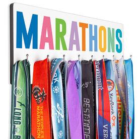 Running Hooked on Medals Hanger - Marathons