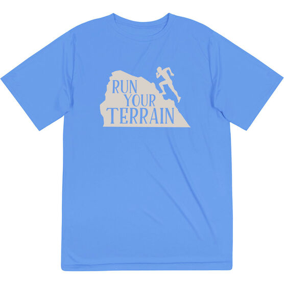 Men's Running Short Sleeve Tech Tee - Run Your Terrain