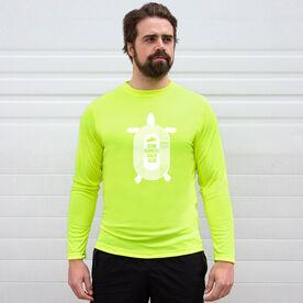 Men's Running Long Sleeve Tech Tee - Slow Runners Track Club