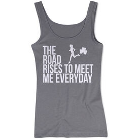 Running Women's Athletic Tnk Top - The Road Rises