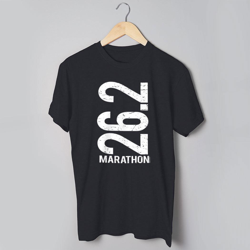 26.2 Marathon T-shirt Man Runner T Shirt