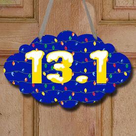 13.1 Christmas Lights Decorative Cloud Sign