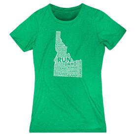 Women's Everyday Runners Tee Idaho State Runner