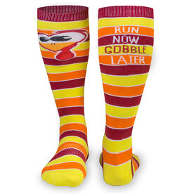 Yakety Yak Knee High Socks - Run Now Gobble Later