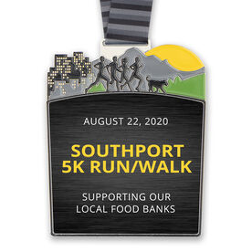 Run This Town Custom Race Medals