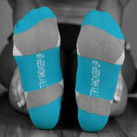 Socrates® Woven Performance Socks Mother Runner (Teal)