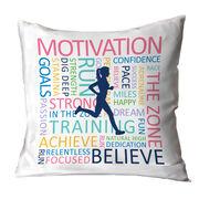 Running Decorative Pillow - Inspiration Runner