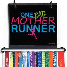 BibFOLIO+™ Race Bib and Medal Display One Bad Mother Runner
