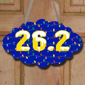 26.2 Christmas Lights Decorative Cloud Sign