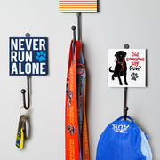 Running Medal Hook - Did Someone Say Run? (Black)