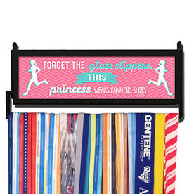 RunnersWALL Forget the Glass Slipper This Princess Wears Running Shoes Medal Display