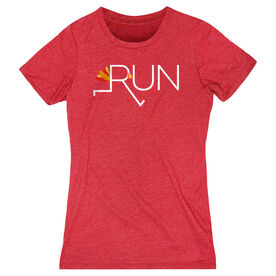 Women's Everyday Runners Tee - Let's Run For Turkey