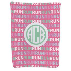 Running Baby Blanket - Running Pattern