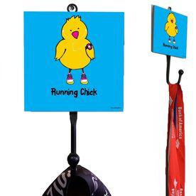 Running Chick Medal Hook