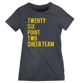 Women's Everyday Runners Tee Twenty Six Point Two Cheer Team