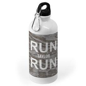 Running 20 oz. Stainless Steel Water Bottle - Run Your Name Run