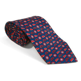 Swim Bike Run Triathlete Silk Tie