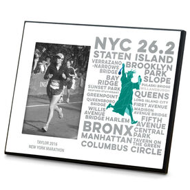 Running Photo Frame New York Statue of Liberty
