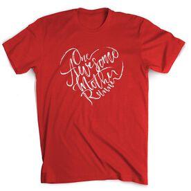 Running Short Sleeve T-Shirt - One Awesome Mother Runner