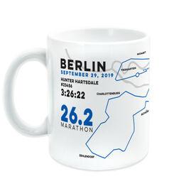 Running Coffee Mug - Personalized Berlin Map