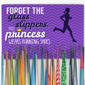 Running Hooked on Medals Large Medal Hanger This Princess Wears Running Shoes