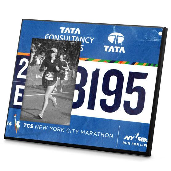 Running Photo Frame Your Race Bib