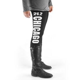 Runner's High Print Leggings 26.2 Chicago