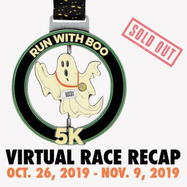 Virtual Race - Run With Boo 5K (2019)