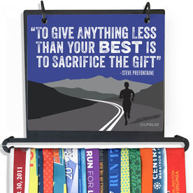 BibFOLIO+™ Race Bib and Medal Display - To Give Anything Less