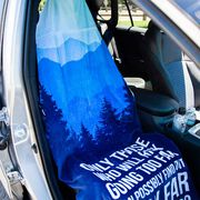 Running Beach Towel Seat Cover - Only Those Who Risk Going Too Far