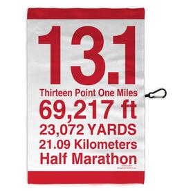 Running Workout/Golf Towel 13.1 Math Miles