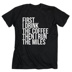 Running Short Sleeve T-Shirt - Then I Run The Miles