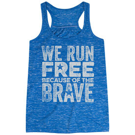 Flowy Racerback Tank Top - We Run Free