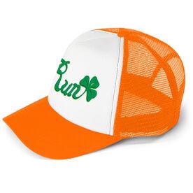 Running Trucker Hat Run Clover