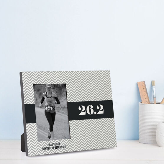 Running Photo Frame - Chevron 26.2