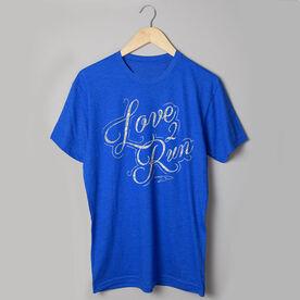 Running Short Sleeve T-Shirt - Love To Run (Script)