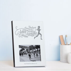 Running Photo Frame - Words To Run By