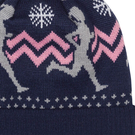 Running Knit Hat - Runner Girl Navy
