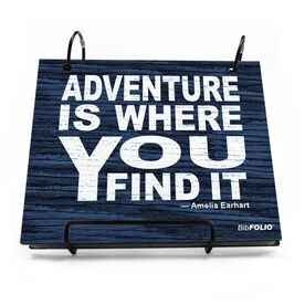 BibFOLIO® Race Bib Album - Adventure Is Where You Find It