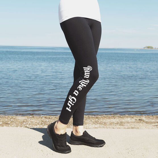 Runner's Leggings Run Like A Girl