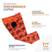 Running Performance Capris - Run Now Gobble Later