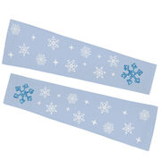 Printed Arm Sleeves - Ice Queen