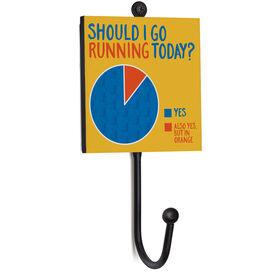 Running Medal Hook - Should I Go Running Today