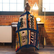 Running Premium Blanket - Your Race Bibs