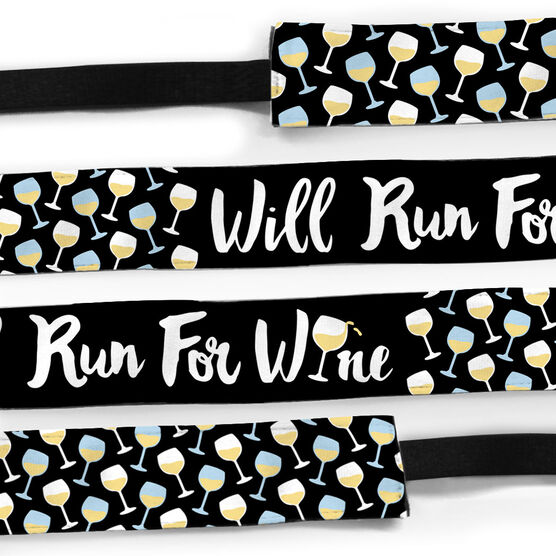 Running Juliband No-Slip Headband - Will Run For Wine